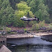 Lancaster Bomber 70th Anniversary Flypast Art Print