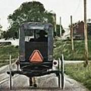 Lancaster Roads Art Print