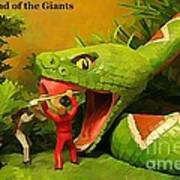Land Of The Giants Art Print