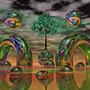 Land Of World 8624036 Art Print