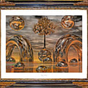 Land Of World 8624042 Framed Art Print