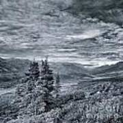 Land Shapes 18 Art Print