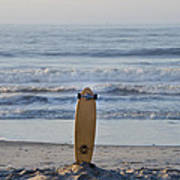 Land Surf Board Art Print