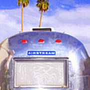 Land Yacht Palm Springs Art Print