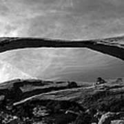 Landscape Arch Panoramic Art Print