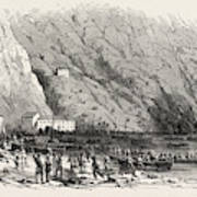 Landing Of A Portion Of The National Army At The Marina Di Art Print