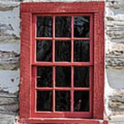 Landow Cabin Window Art Print