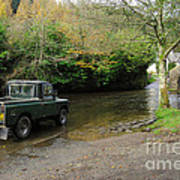 Landrover And The Ford  Art Print