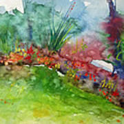Landscape-1 Art Print by Vladimir Kezerashvili