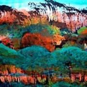 Landscape 121001-4 Art Print