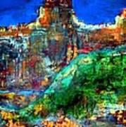 Landscape 121001-5 Art Print