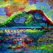 Landscape 130214-5 Art Print