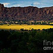 Landscape 22 E Los Alamos Nm Art Print