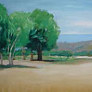 Landscape At Montelimar Art Print