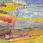 Landscape Collage #1 Art Print