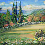 Landscape From Kavran Art Print