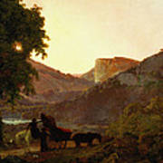 Landscape Art Print by Joseph Wright of Derby