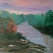River Dreamscape Art Print