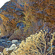 Landscape Of Big Painted Canyon Trail In Mecca Hills-ca Art Print