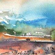 Landscape Of Lanzarote 05 Art Print