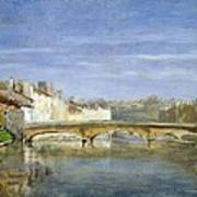 Landscape Oil On Canvas Art Print