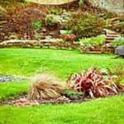 Landscaped Garden Art Print