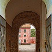Landskrona Citadel Entrance Art Print