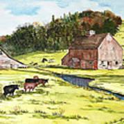Lanesboro Barn Art Print