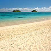 Lanikai Beach 2 - Oahu Hawaii Art Print