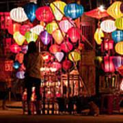 Lantern Stall 01 Art Print