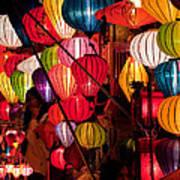 Lantern Stall 03 Art Print
