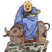 Lao-tzu (c604-531 B Art Print