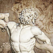 Laocoon Art Print by Joe Winkler