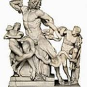 Laocoon With His Sons. 1st C. Bc Art Print by Everett