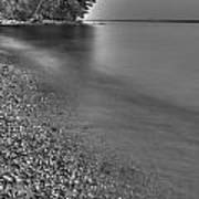 Lapping Waters On The Shore Art Print