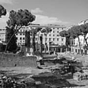 Largo Di Torre - Roma Art Print