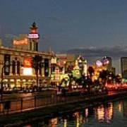 Las Vegas 36 Art Print by Lance Vaughn