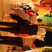 Las Vegas - Fremont Street Experience - 121219 Print by DC Photographer