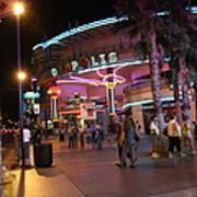 Las Vegas - Fremont Street Experience - 121224 Art Print by DC Photographer
