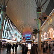 Las Vegas - Fremont Street Experience - 12126 Art Print