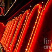 Las Vegas Neon Art Print