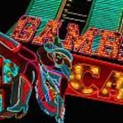 Las Vegas Neon Signs Fremont Street  Art Print