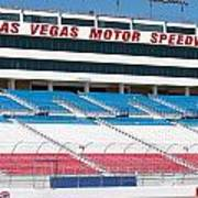 Las Vegas Speedway Grandstands Art Print