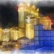 Las Vegas The Palace Photo Art Art Print