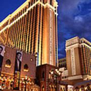 Las Vegas - Venetian Hotel Art Print