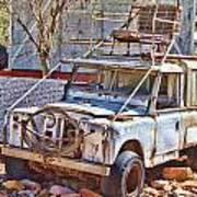 Lasseter Land Rover Art Print