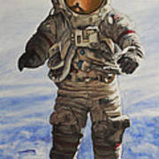 Last Man - Apollo 17 Art Print