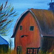 Last Of The Old Farms  Art Print