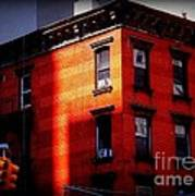 Last Rays Of The Sun - Old Buildings Of New York Art Print