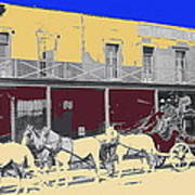 Last Stage To Tombstone Arizona Old Modoc 1903-2013 Art Print